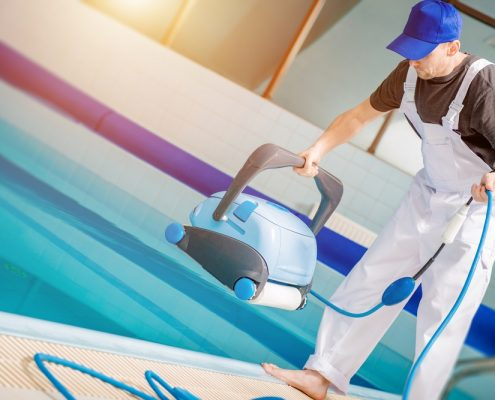 Limpieza del agua de tu piscina