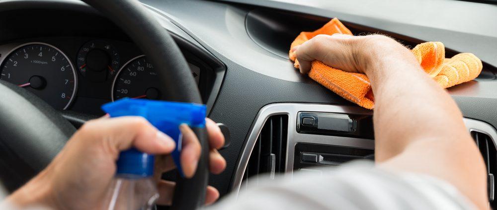 Limpieza de tu coche