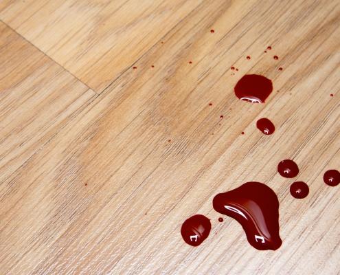 Eliminar manchas de sangre